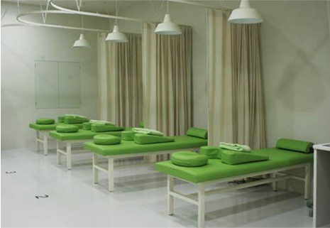 Green room interior design for Sustainable interior design products