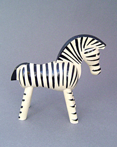 vintage objects landscape products co ltd kay bojesen toy zebra. Black Bedroom Furniture Sets. Home Design Ideas